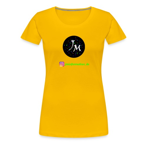 jminformation-Logo - Frauen Premium T-Shirt