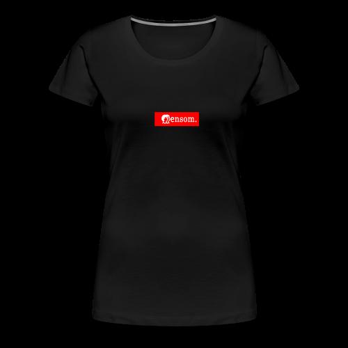 Ensom - Premium T-skjorte for kvinner