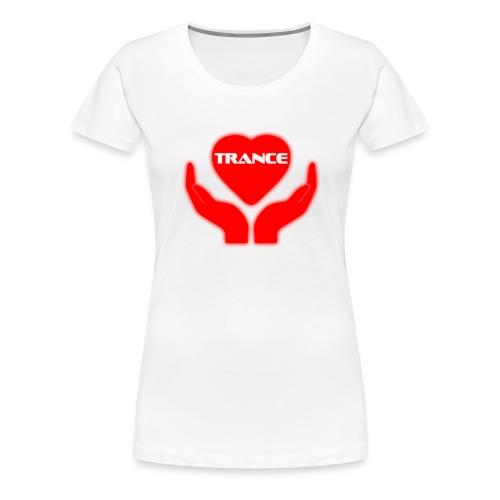 Trancehart - Premium-T-shirt dam
