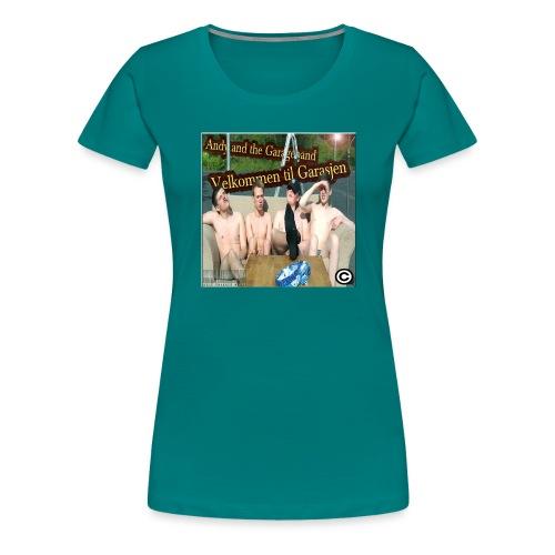 Velkommen Til Garasjen - Premium T-skjorte for kvinner