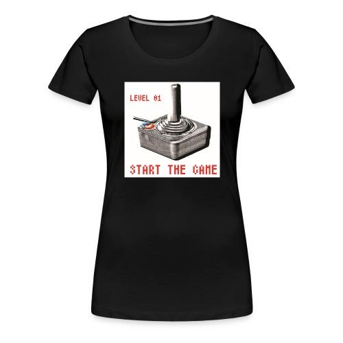 LEVEL 01 - T-shirt Premium Femme