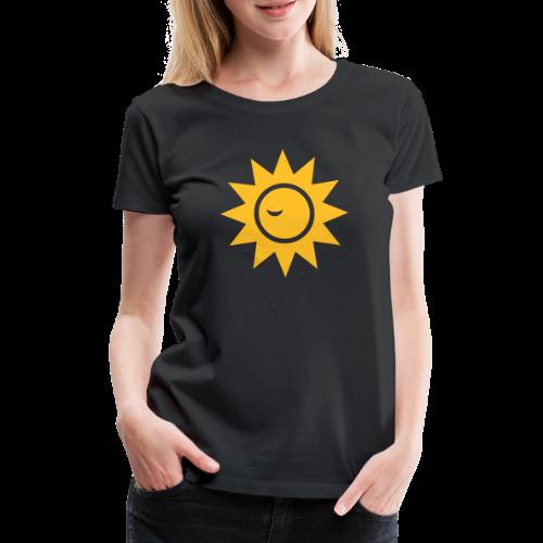 Winky Sun - Vrouwen Premium T-shirt