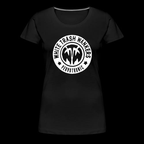 White Trash Wankers Pervotronic-Logo - Frauen Premium T-Shirt