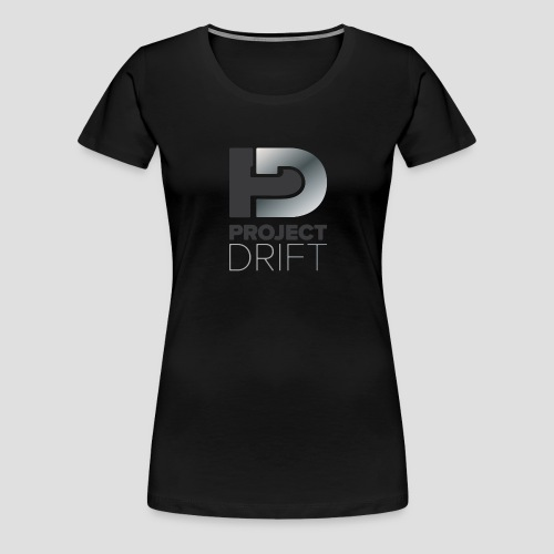 Project Drift LOGO 01 png - Women's Premium T-Shirt