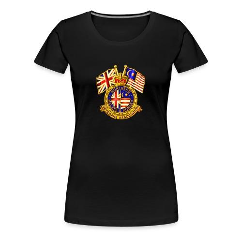 Norther Malaya and Borneo Veterans Association - Women's Premium T-Shirt