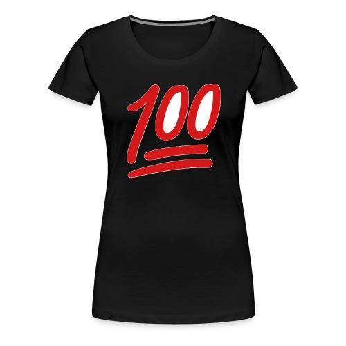 100 - Vrouwen Premium T-shirt
