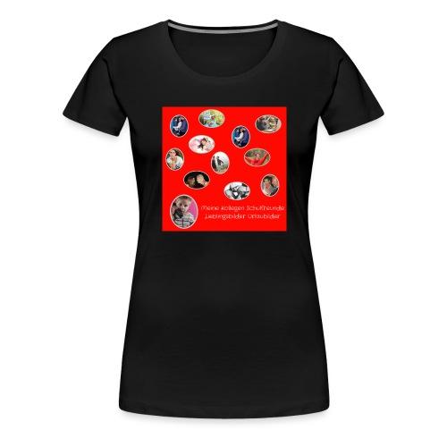 Motiv 8 Meine Kollegen vor Kauf s. unten - Frauen Premium T-Shirt