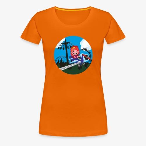 Themeparkrides - Airplanes - Vrouwen Premium T-shirt