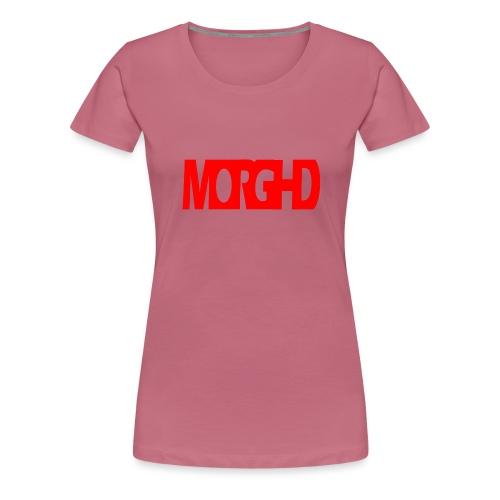 MorgHD - Women's Premium T-Shirt