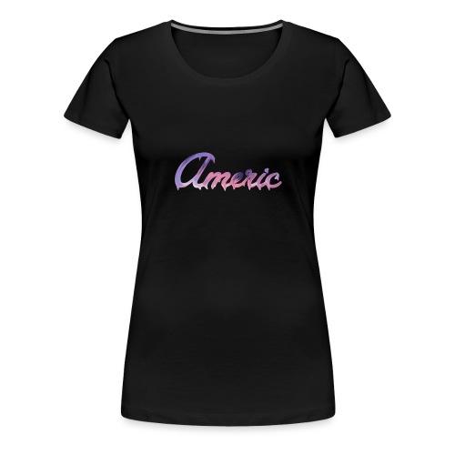 Pink paint logo - Vrouwen Premium T-shirt