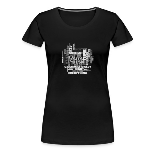 Lyrics Game - Women's Premium T-Shirt