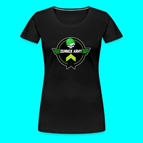 Zennox Army Design - Women's Premium T-Shirt