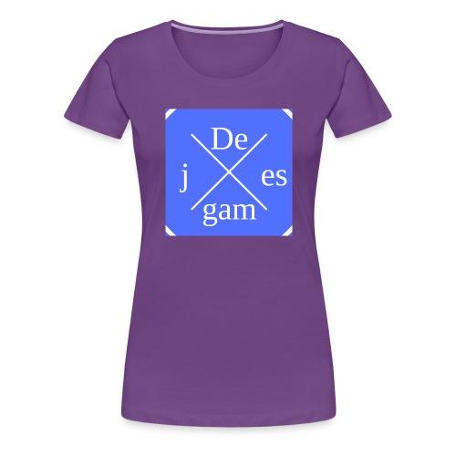 de j games kleren - Vrouwen Premium T-shirt