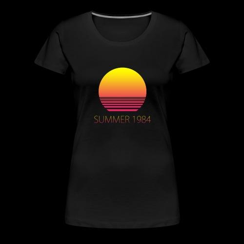 Summer 1984 - Vaporwave - T-shirt Premium Femme
