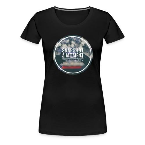snapshot eternity - Frauen Premium T-Shirt