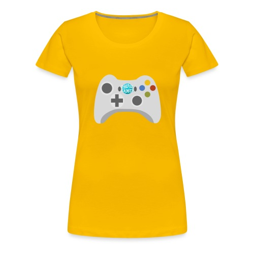 Pause Games Controller Logo - Women's Premium T-Shirt