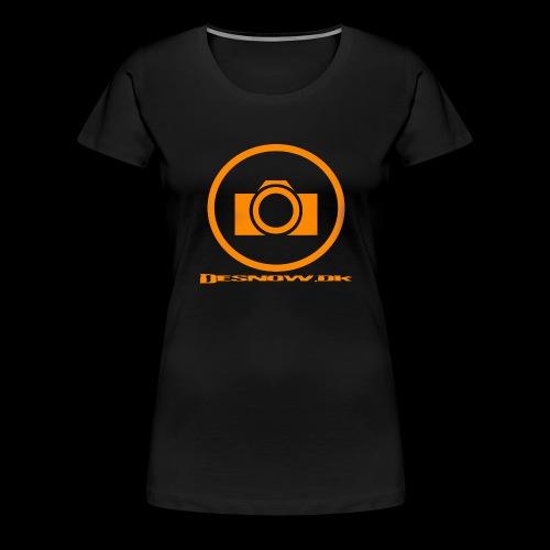 Orange 2 png - Dame premium T-shirt
