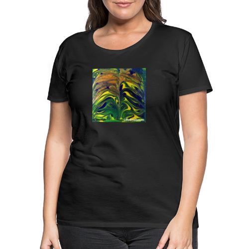 TIAN GREEN Mosaik DE029 - Lebensbaum - Frauen Premium T-Shirt