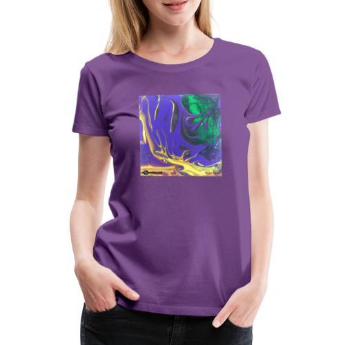 TIAN GREEN Mosaik DK010 - Free flow - Frauen Premium T-Shirt