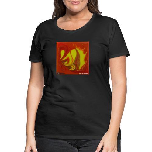 TIAN GREEN Mosaik DK011 - Fire of passion - Frauen Premium T-Shirt