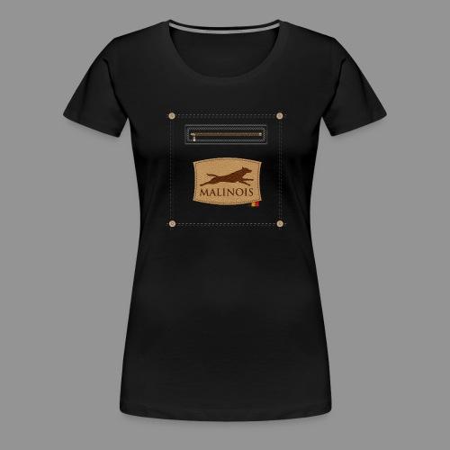 Belgian shepherd Malinois - Women's Premium T-Shirt