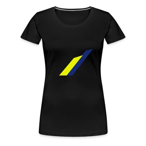 streifen png - Frauen Premium T-Shirt