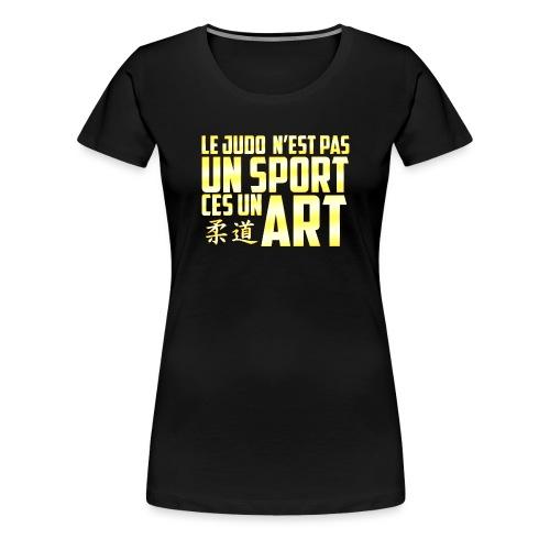 Le T-Shirt du Judoka ! - T-shirt Premium Femme