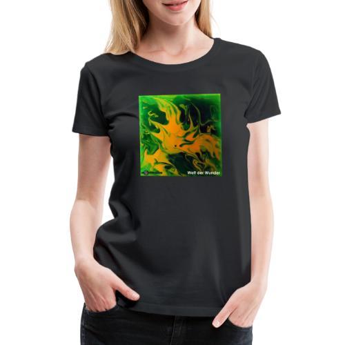 TIAN GREEN Mosaik DE002 - Welt der Wunder - Frauen Premium T-Shirt