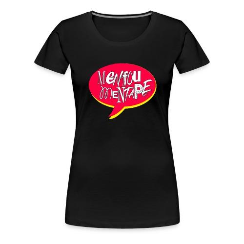 Bulle MFMT rouge et jaune - T-shirt Premium Femme