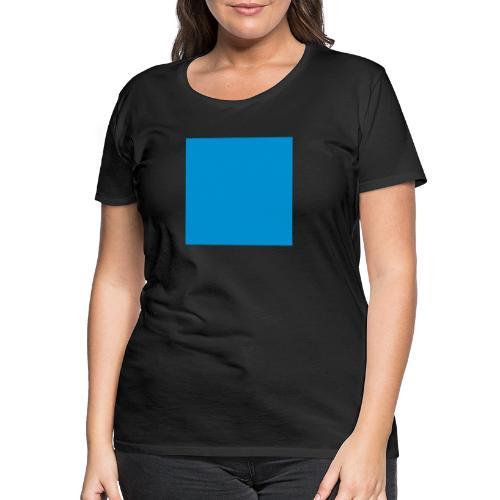 Sweat Carré Bleu - T-shirt Premium Femme
