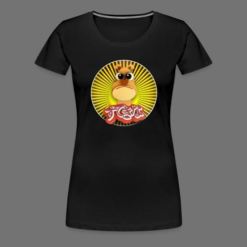 Söpö koira - Naisten premium t-paita