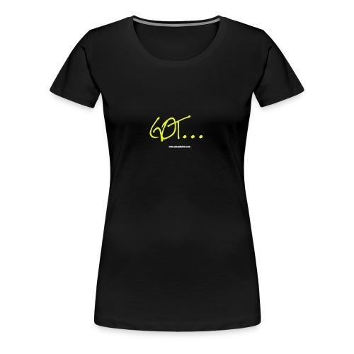 GOT LARGE LOGO - Women's Premium T-Shirt
