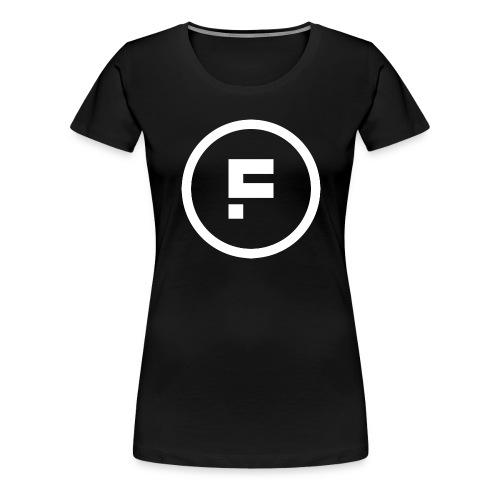 Logo_Rond_3500x3500 - Vrouwen Premium T-shirt