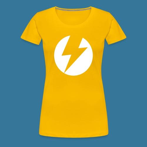 BlueSparks - White - Women's Premium T-Shirt