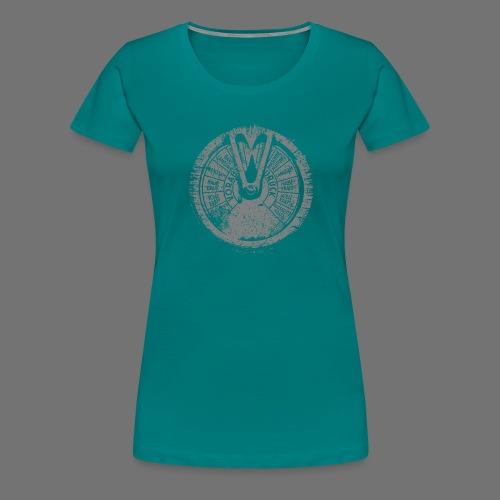 Maschinentelegraph (gray oldstyle) - Women's Premium T-Shirt