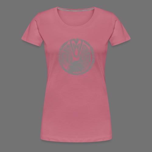 Maschinentelegraph (harmaa oldstyle) - Naisten premium t-paita