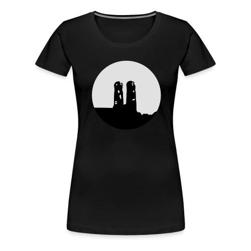 30mm 10cm Munich München Frauenkirche Logo - Camiseta premium mujer
