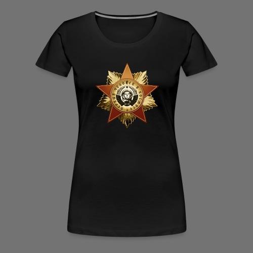 Kosmonaut Orden - Frauen Premium T-Shirt