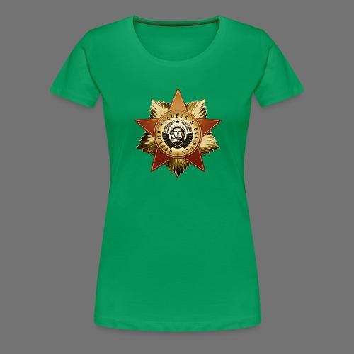 Cosmonaut Medal - Women's Premium T-Shirt