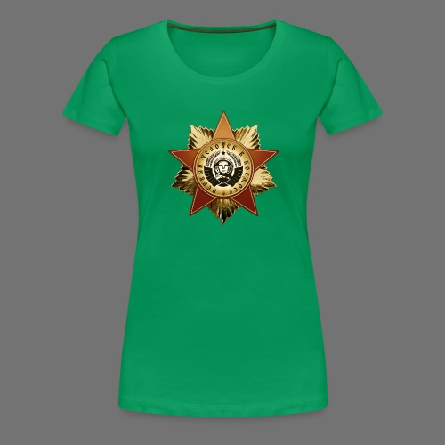 Medal kosmonauta - Koszulka damska Premium