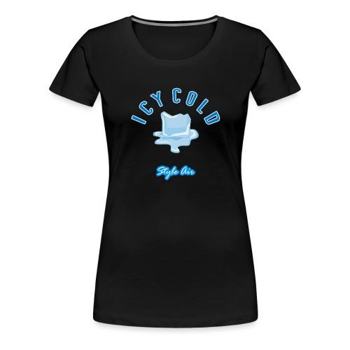 Eis Würfel - Frauen Premium T-Shirt