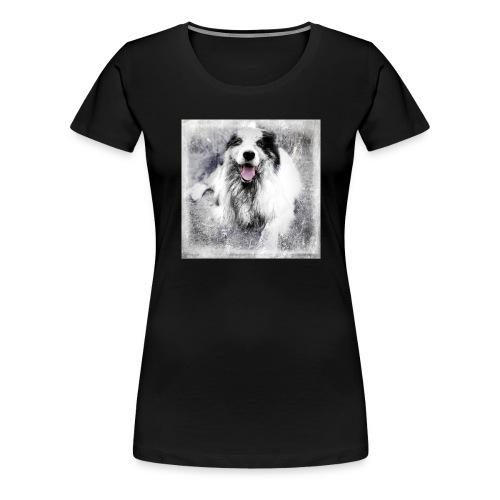 Cody bw - Frauen Premium T-Shirt
