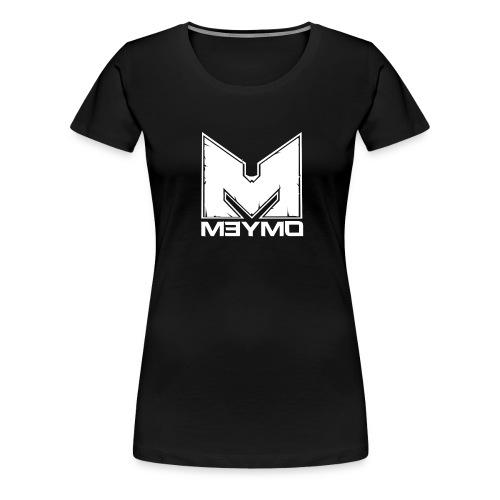 Meymo Logo Weiß - Frauen Premium T-Shirt
