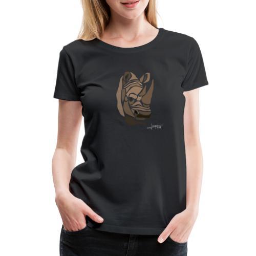 rhinoceros-spread - T-shirt Premium Femme
