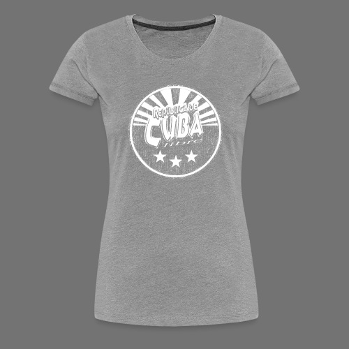 Cuba Libre (1c white) - Frauen Premium T-Shirt