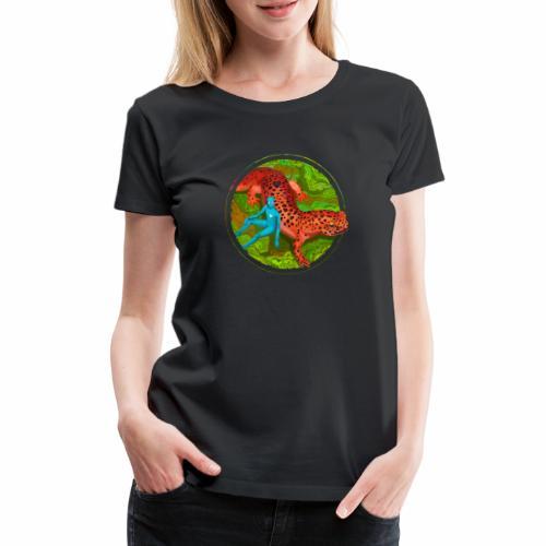 Fiersalamander with fairy - Frauen Premium T-Shirt