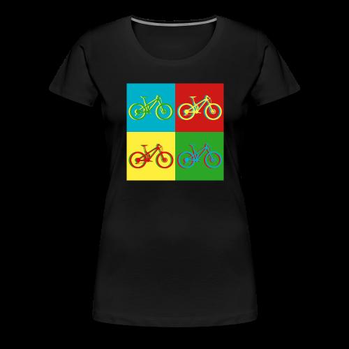MTB Mountainbike Retro - Frauen Premium T-Shirt