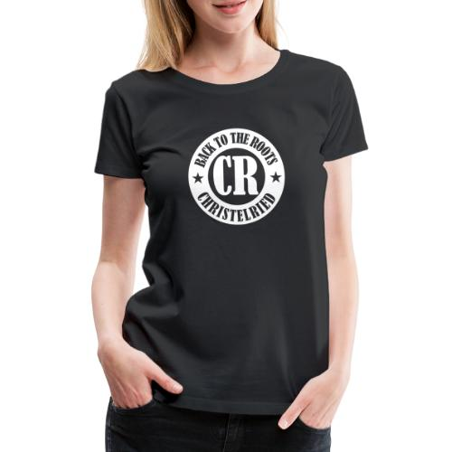 Logo back to the roots_we - Frauen Premium T-Shirt