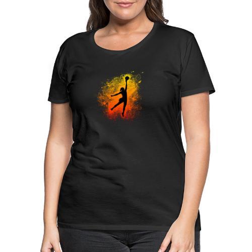 Le Basket est un Art II - T-shirt Premium Femme