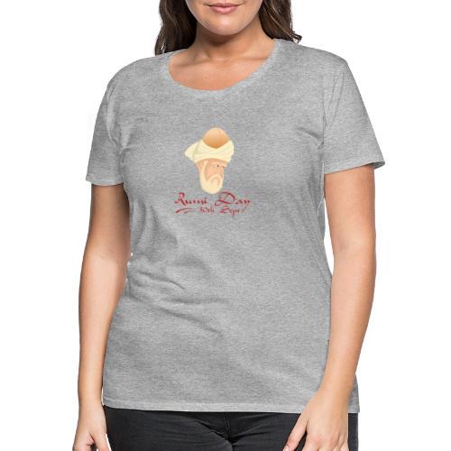 Rumi Day, 30th Sept - Women's Premium T-Shirt